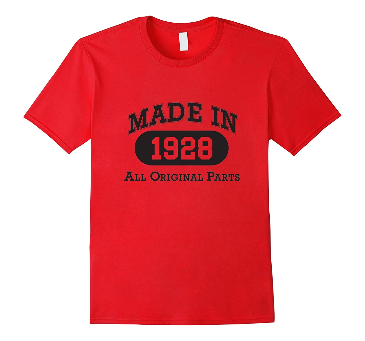 Born in 1928 T-shirt - hot trend birthday gift-CL