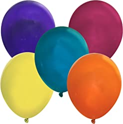 """Creative Balloons 5"""" Latex Balloons - Pack of 144 Piece - Decorator Assorted Colors"""