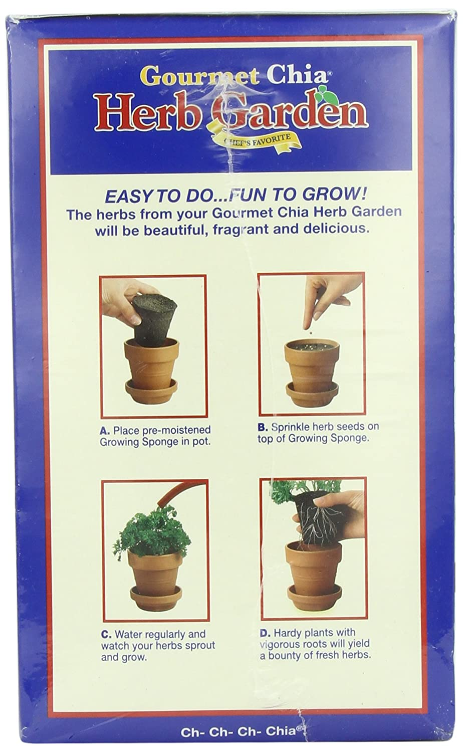 Chia pet herb garden - Amazon Com Chia Gourmet Herb Garden Plant Germination Kits Garden Outdoor