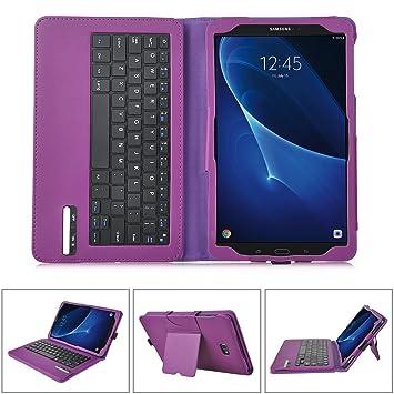 IVSO Samsung Galaxy Tab E 9.6 Teclado Estuche [QWERTY Layout], Samsung Galaxy Tab