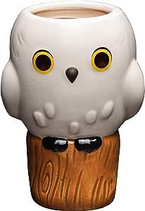 Harry Potter Hedwig Owl Coffee Mug - Cute Figural Goblet Design by Jerrod Maruyama - Ceramic - 14 oz