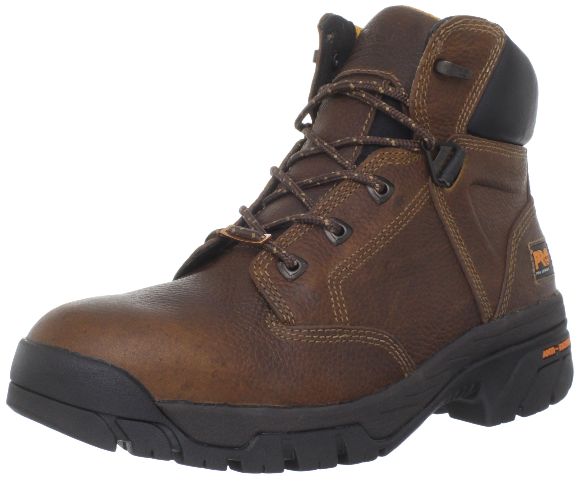 Timberland PRO Men's Helix 6 Inches Soft Toe Work Boot,Brown,10.5 M US