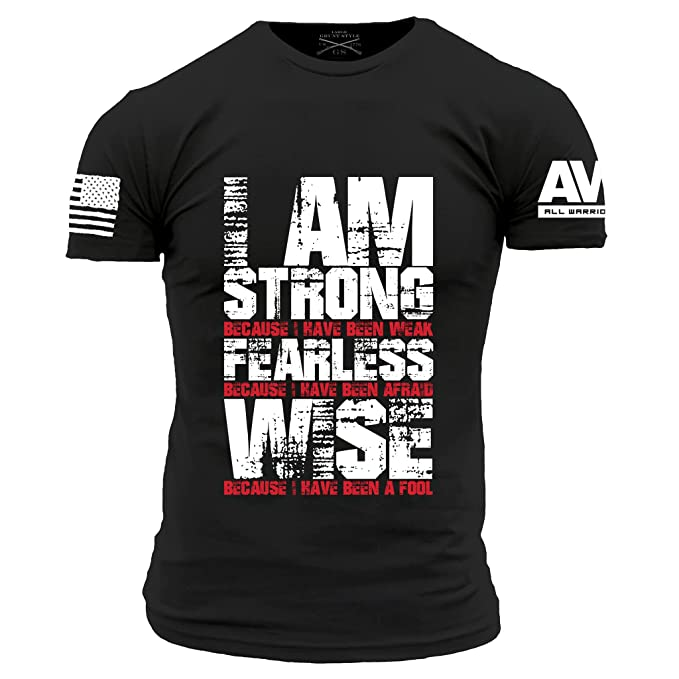 86657c6d Amazon.com: Grunt Style AWN Men's I'm Strong T-Shirt: Clothing