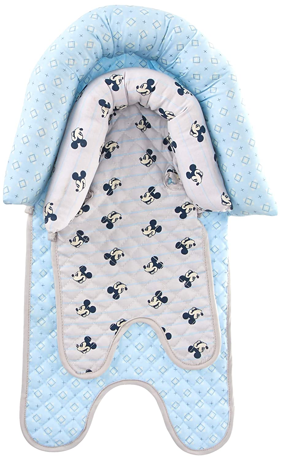 Strollers /& Bouncers Disney Mickey Mouse Baby Boys Infant Head Support for Car Seats Multi Mickey Print