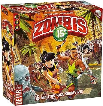 Devir- Lucha contra los Zombis (BGHZOM): Amazon.es: Juguetes y juegos
