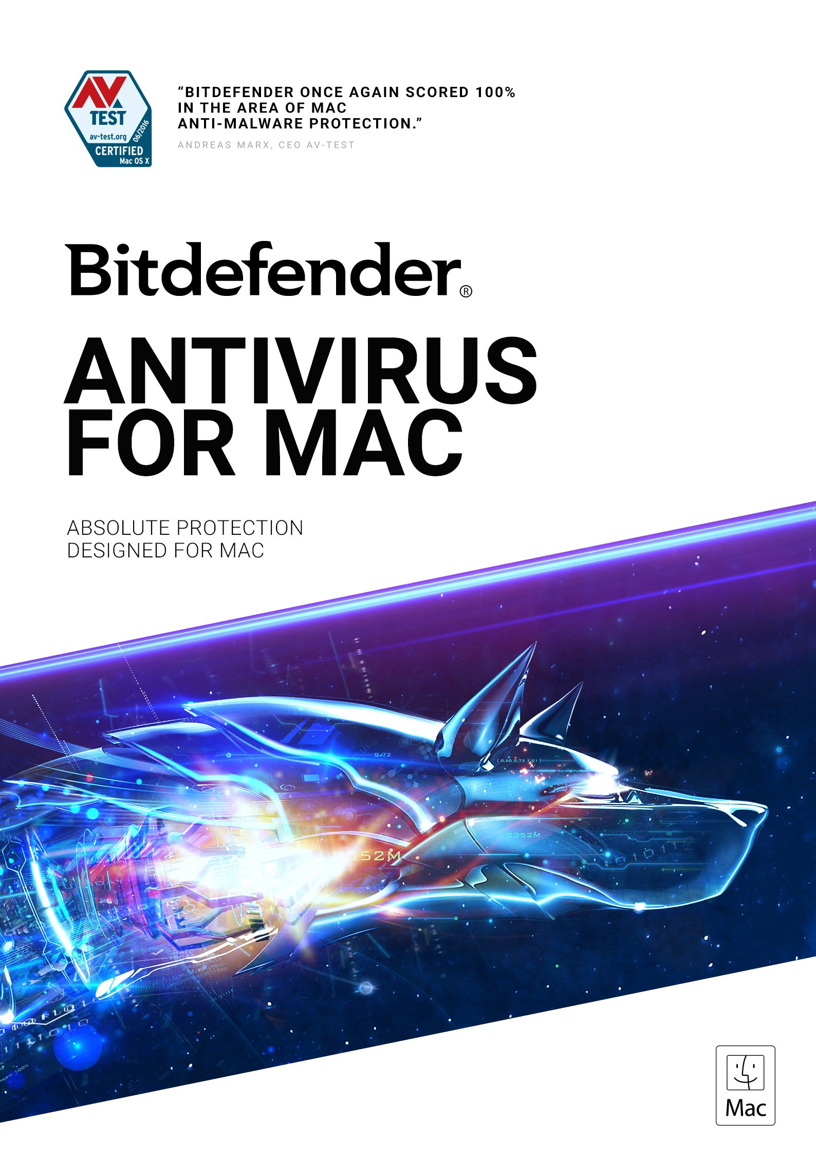 Bitdefender Antivirus for Mac - 1 Device | 1 year Subscription | Mac Activation Code by email by Bitdefender