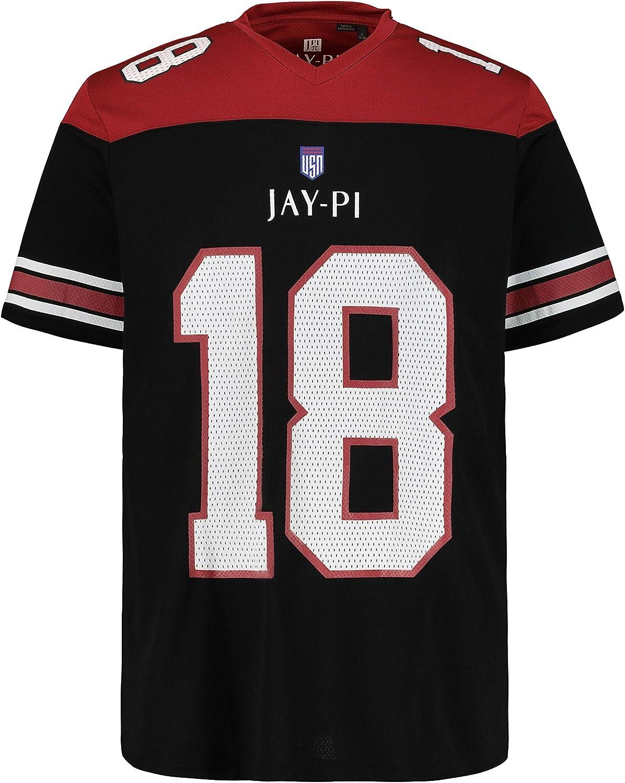 JP 1880 726623 - Camiseta de fútbol para Hombre Negro (Negro 72662310) XXXL: Amazon.es: Ropa y accesorios
