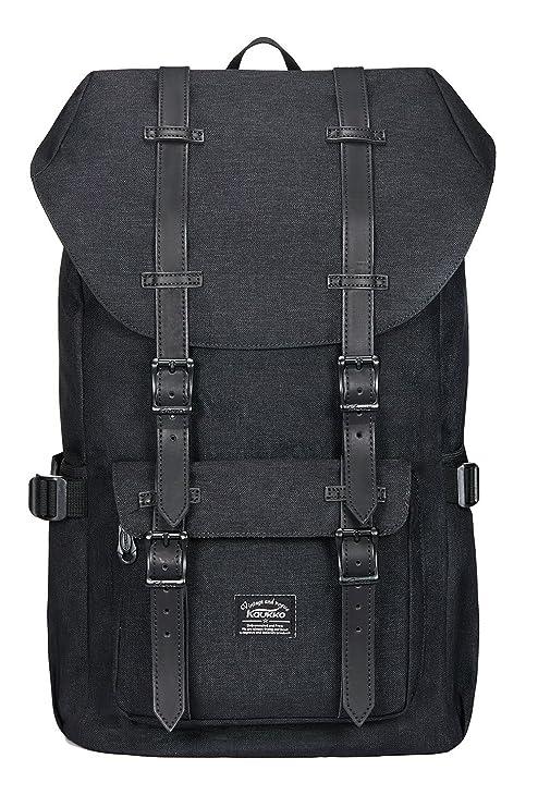 c52102cc602e1 Amazon.com  KAUKKO Laptop Outdoor Backpack