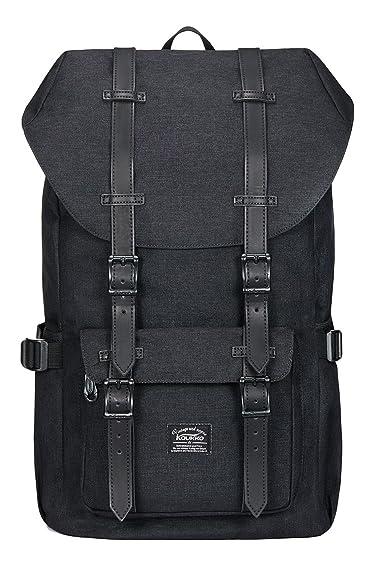 b1ffb10f8b14 (カウッコ) Kaukko ノートPC用アウトドアバックパック旅行 ハイキング キャンプ リュックサック カジュアル