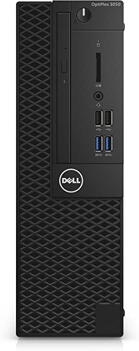 Dell Optiplex 3050 Intel Core i5-6500 X4 3.2GHz 8GB 500GB Win10, Black (Renewed)