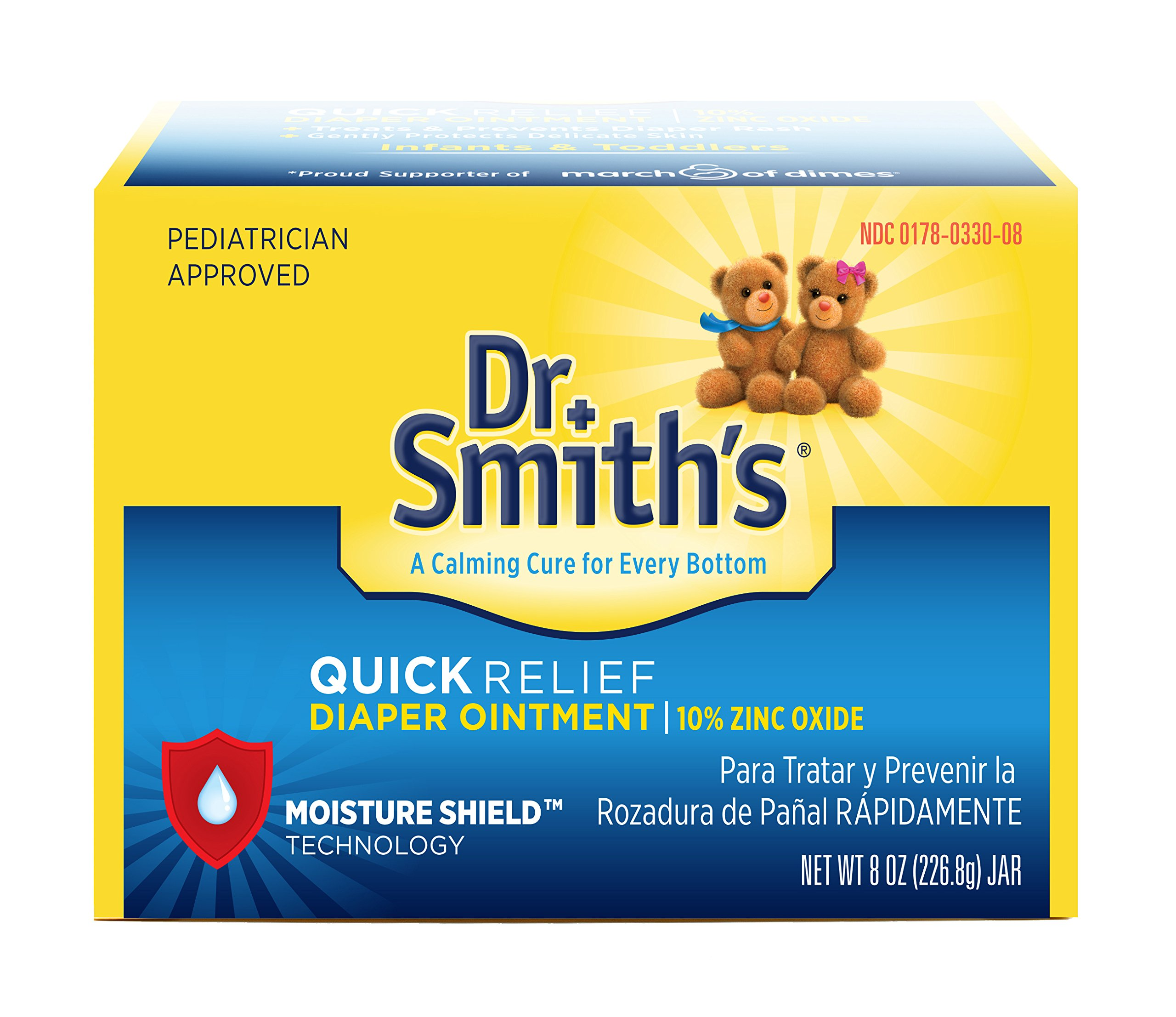 Dr. Smiths Quick Relief Diaper Rash Ointment, 8 ounce by Dr. Smith's Diaper Ointment