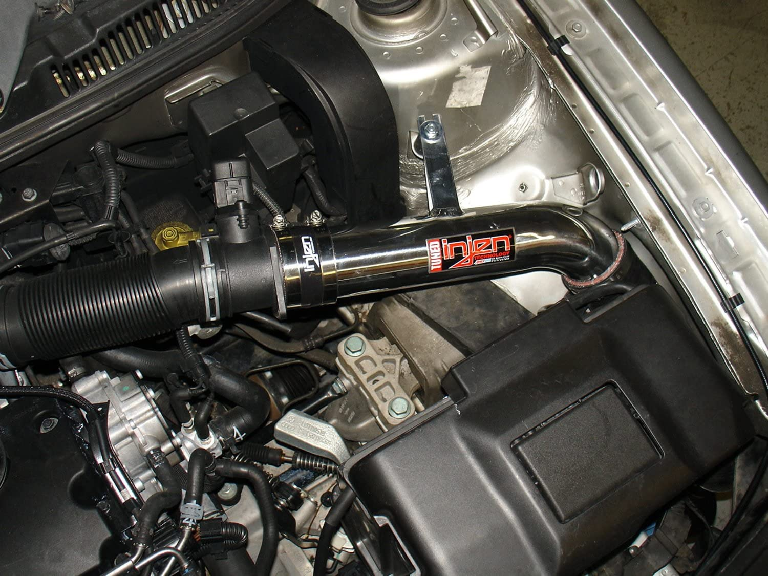 Air Fusion and Web Nano-Fiber Dry Filter Injen SP1900P Polished Finish Tuned Cold Air Intake System with MR Technology
