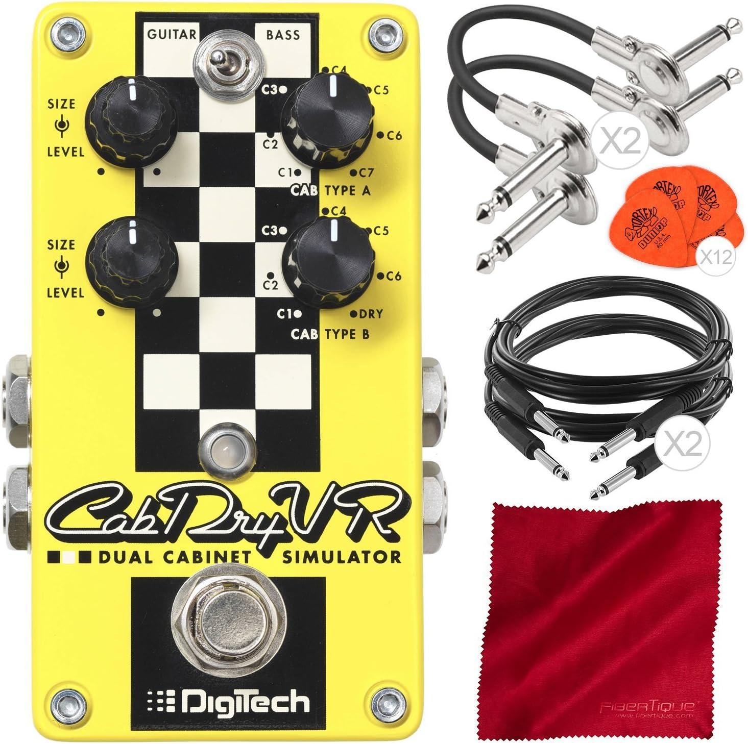 DigiTech CabDryVR - Pedal de simulación de gabinete doble para ...