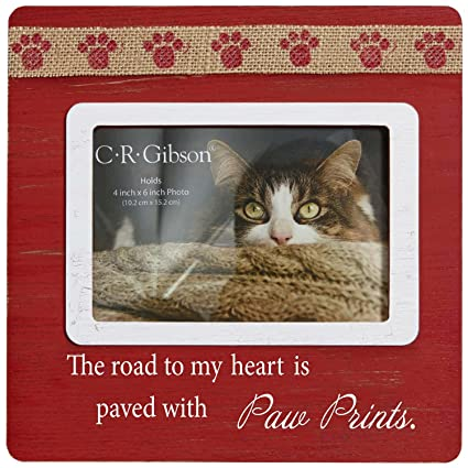 Amazon.com - The Road To My Heart Is Paved With Paw Prints ~ Picture ...
