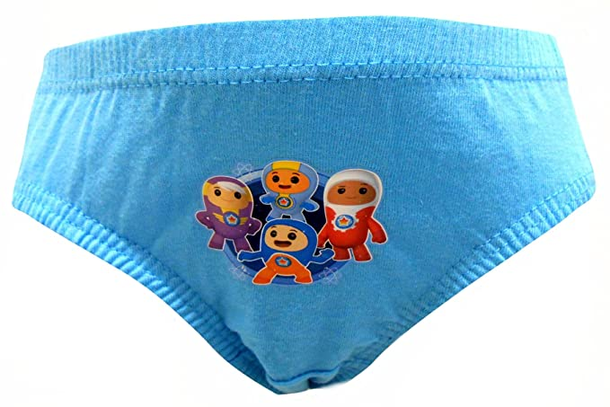 Go Jetters Boys Team Go 6 Pack Briefs Underpants