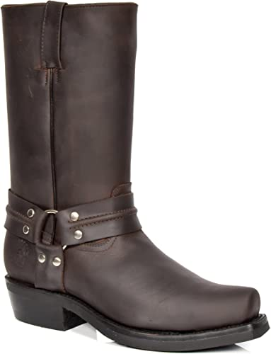 Neuf Sendra Boots Chaussures Hommes Bottes Hommes Bottes Bottes en cuir chaussures en cuir