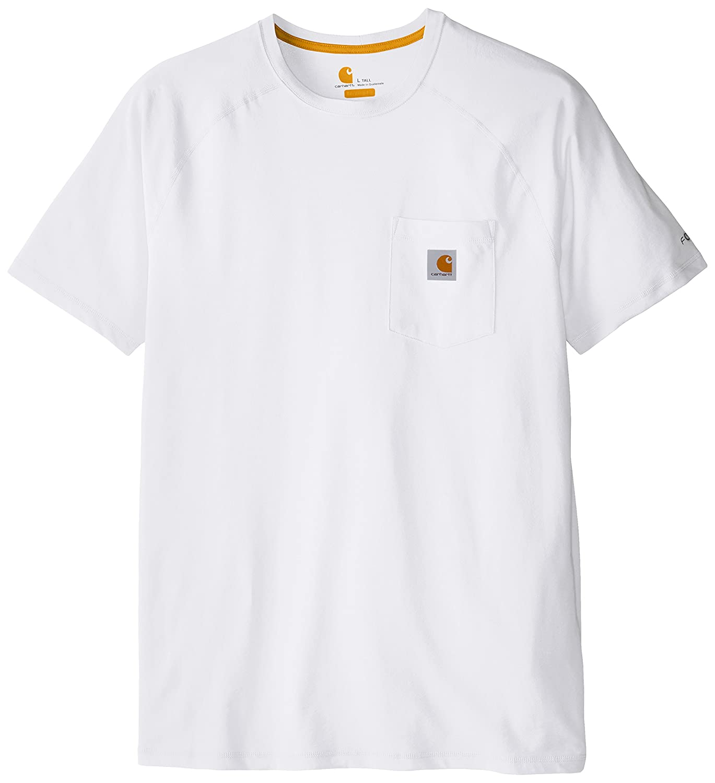 Carhartt メンズ ビッグ&トール フォースコットン 半袖Tシャツ リラックスフィット B011J0HN3Q 3L ホワイト ホワイト 3L