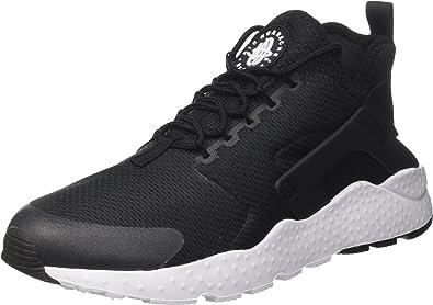 Nike Air Huarache Run Ultra, Baskets Femme, Noir (Black ...