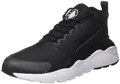 Nike Air Huarache Run Ultra, Baskets Femme, Noir (Black Black White),