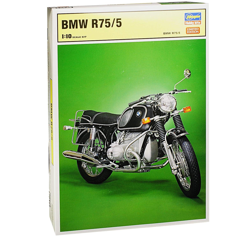 Hasegawa BMW R75/5 Schwarz 1941-1944 1941-1944 1941-1944 Kit Bausatz 1/10 Modell Motorrad mit individiuellem Wunschkennzeichen dc4ea1