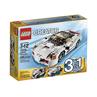 LEGO Creator Highway Speedster 31006: Toys & Games