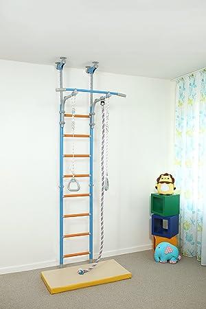 Wallbarz - Equipo de gimnasio en casa para niños, parque interior, deporte para niños en interior, 2