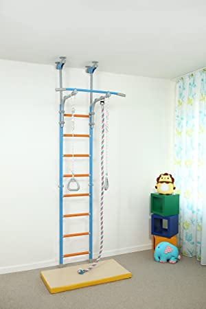 Home gym equipment for kids indoor home playground wallbarz
