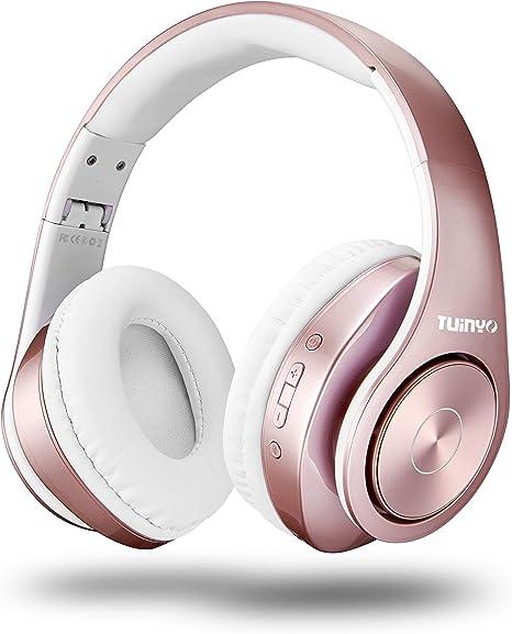 Bluetooth Headphones Wireless Tuinyo Over Ear Stereo Amazon Co Uk Electronics