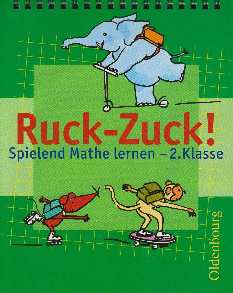 Ruck-Zuck! Spielend Mathe lernen - 2. Klasse