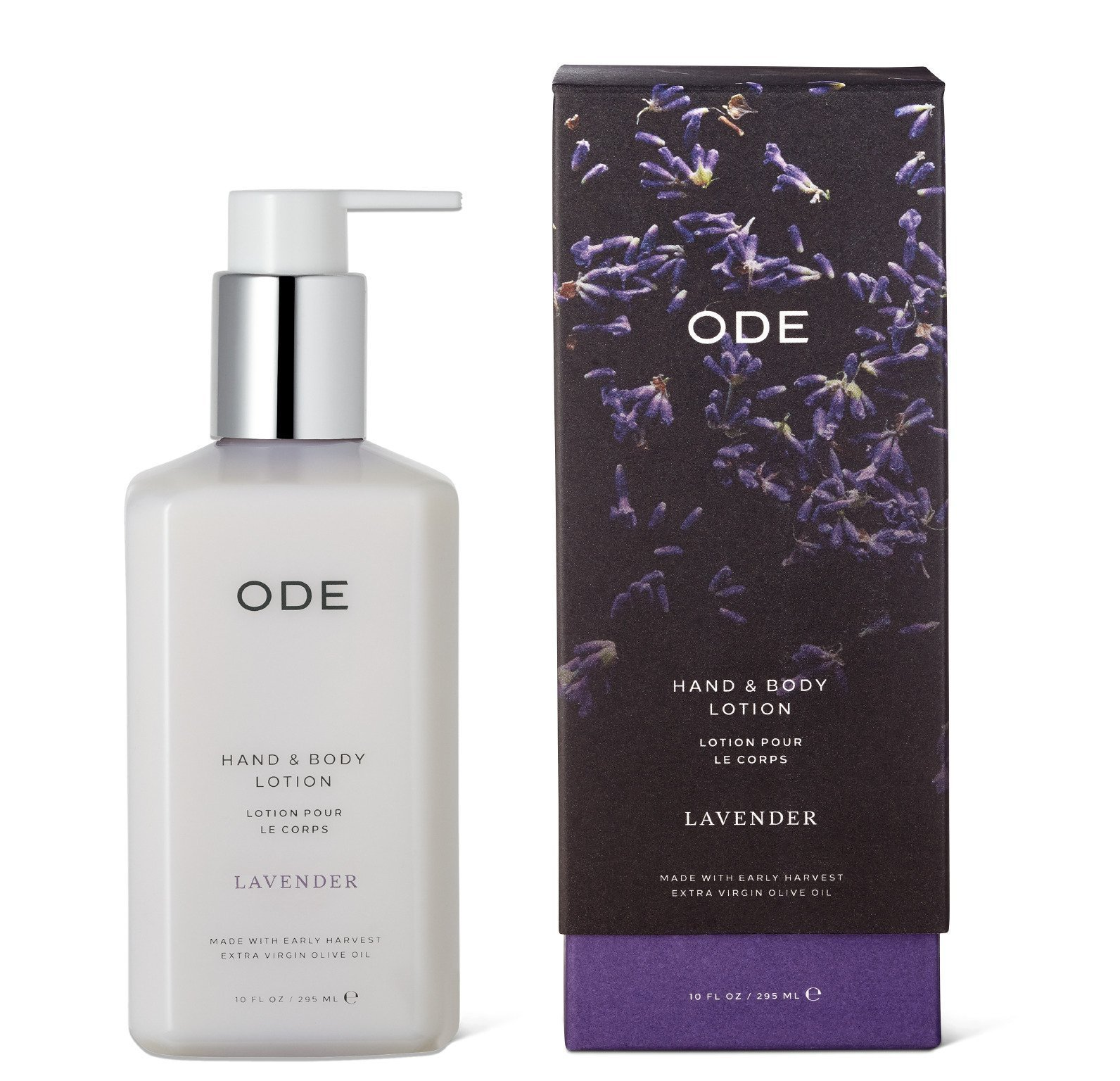 ODE natural beauty - Lavender Hand & Body Lotion