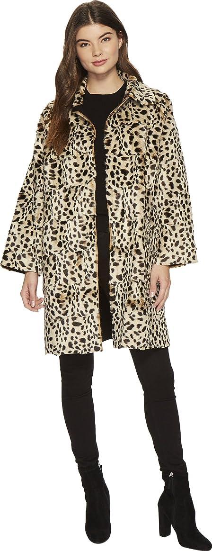Amazon.com: KAMALIKULTURE by Norma Kamali Women's Mens-Cut Trench Leopard  X-Small/Small: Clothing