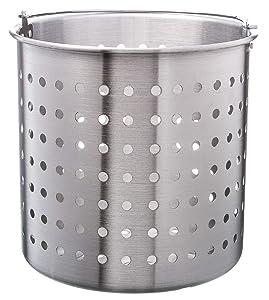 Update International (ABSK-40) 40 Qt Aluminum Steamer Basket