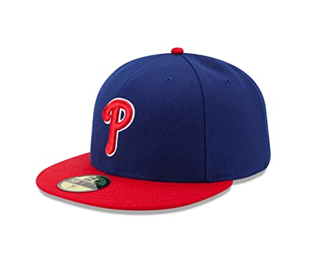 uk availability 5a3bb 37173 New Era MLB Philadelphia Phillies Alternate Youth AC On Field 59Fifty  Fitted Cap-658