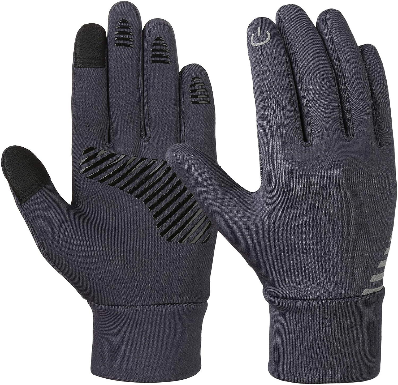 VBIGER Kids Winter Gloves Boys Girls Touchscreen Gloves Fleece Sports Gloves Bike Gloves for Children 4-10 Years: Clothing
