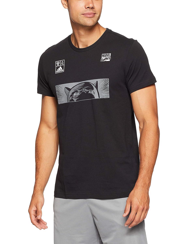 51ec3ac6c adidas Men s Black Panther T-Shirt  adidas  Amazon.co.uk  Sports   Outdoors