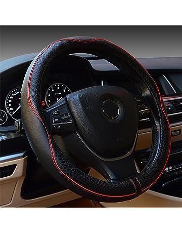 frein /à main et levier de vitesses Accessoires auto/- Super en hiver/- Noir En peluche Housses pour volant