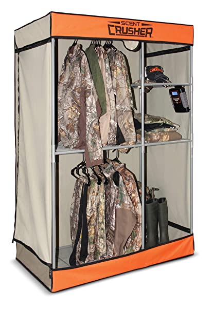 235cf09c19f92 Scent Crusher Pro Series Hunter's Closet – Destroys Odors Within 30 mins,  Heavy-Duty