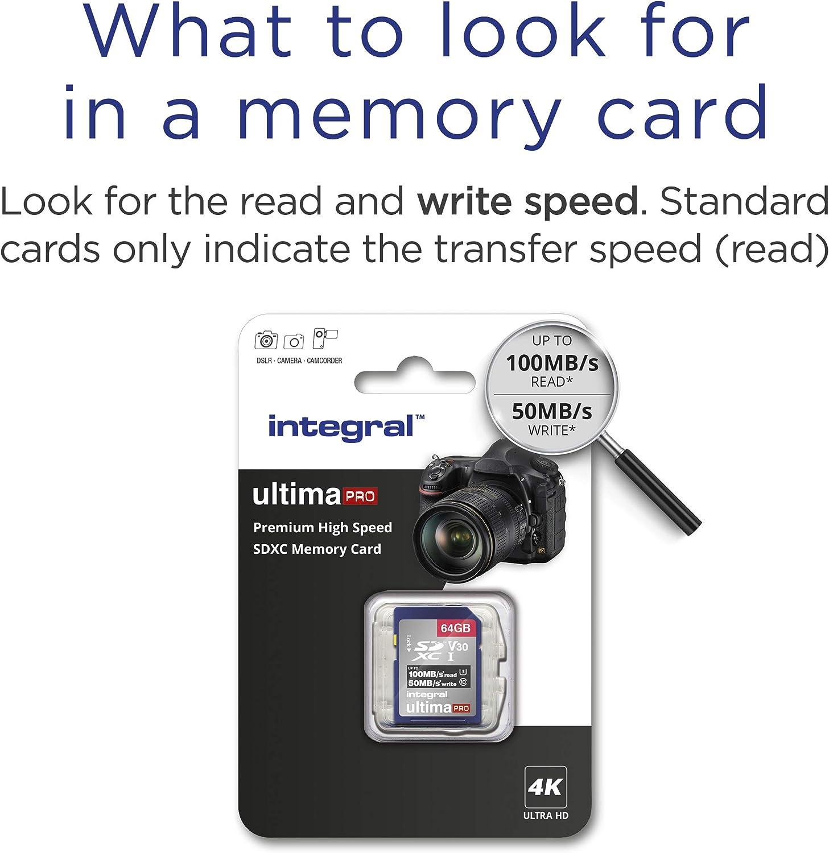 Integral Sd Karte 256 Gb Premium 4k Sdxc Computer Zubehör