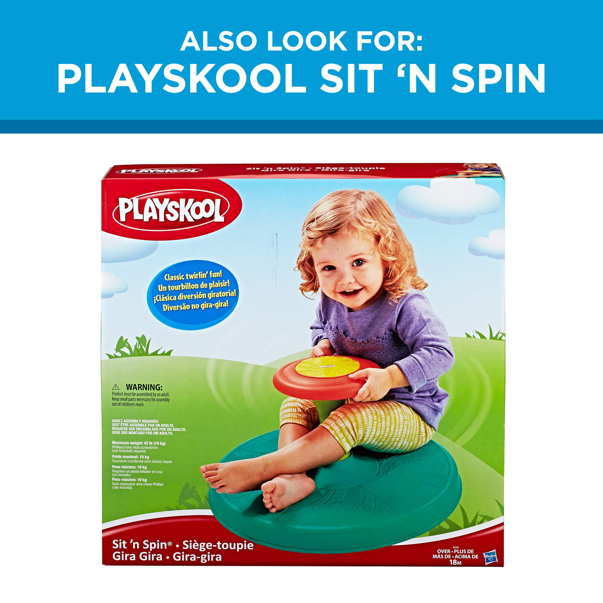 Playskool Chase n Go Ball Popper (Teal), Ages 9 Months and up by Playskool (Image #6)