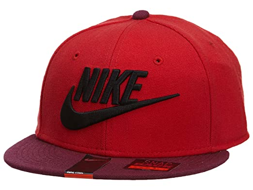431ae761 Nike Graphic Futura True 2 Men's Snapback Cap (University Red/Deep  Garnet/Black