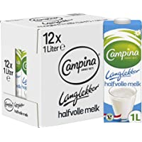 Campina Langlekker Halfvolle Melk 12 x 1 L