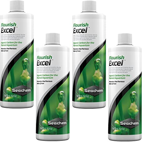 Amazon.com : Seachem Flourish Excel 500 Milliliter Bottles (4 Pack) : Pet Supplies