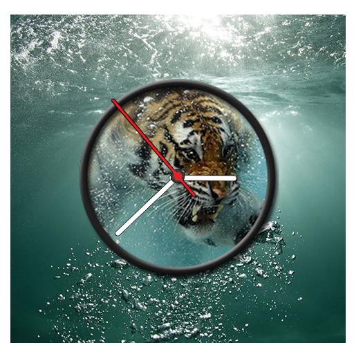 Underwater Clock Live Wallpaper