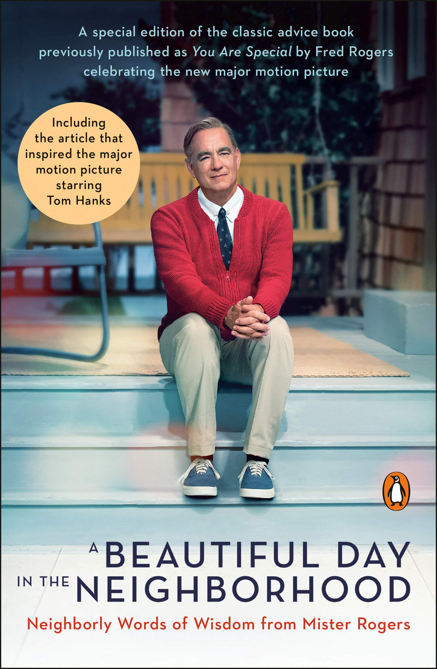 A Beautiful Day In The Neighborhood Movie Tie In Neighborly Words Of Wisdom From Mister Rogers Rogers Fred Junod Tom 9780143135388 Amazon Com Books