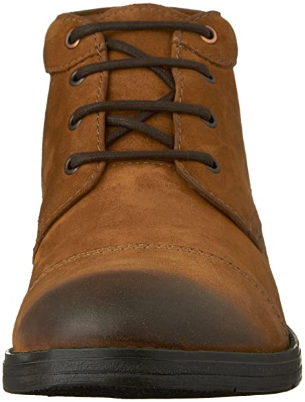 clarks devington bottines tobacco