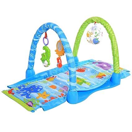 teamzz parte Actividad – Manta Gateo Manta alfombra de juegos para bebé
