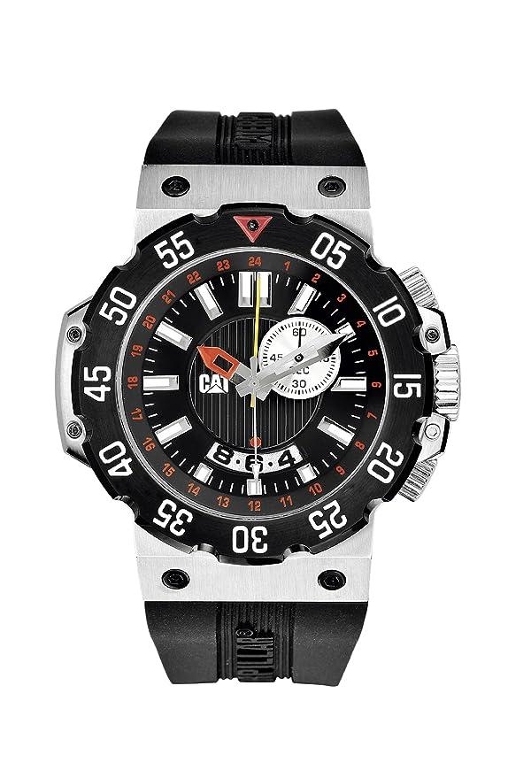 CATERPILLAR Reloj de Cuarzo Unisex D3.145.21.128 42 mm: Amazon.es: Relojes