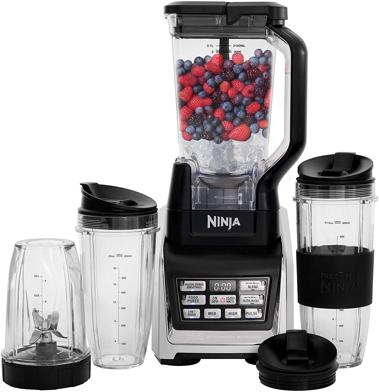Nutri Ninja Personal and Countertop Blender BL642 for Indian Cooking