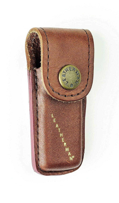 TUFF LUV É tui de Poche Cuir vé ritable pour Leatherman Heritage Micra LPH50 Xtra Small - Brown I5_71_5055261858339