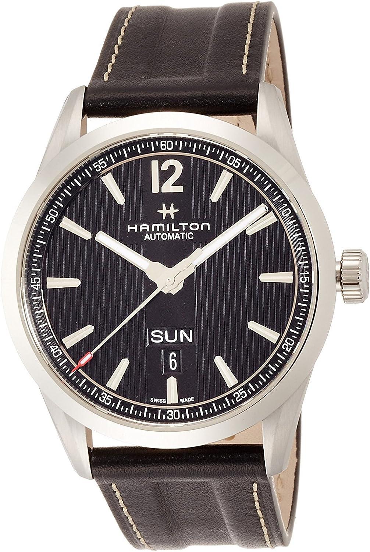 HAMILTON reloj BROADWAY DAY DATE AUTO mecánico de cuerda automática H43515735 Hombres Relojes